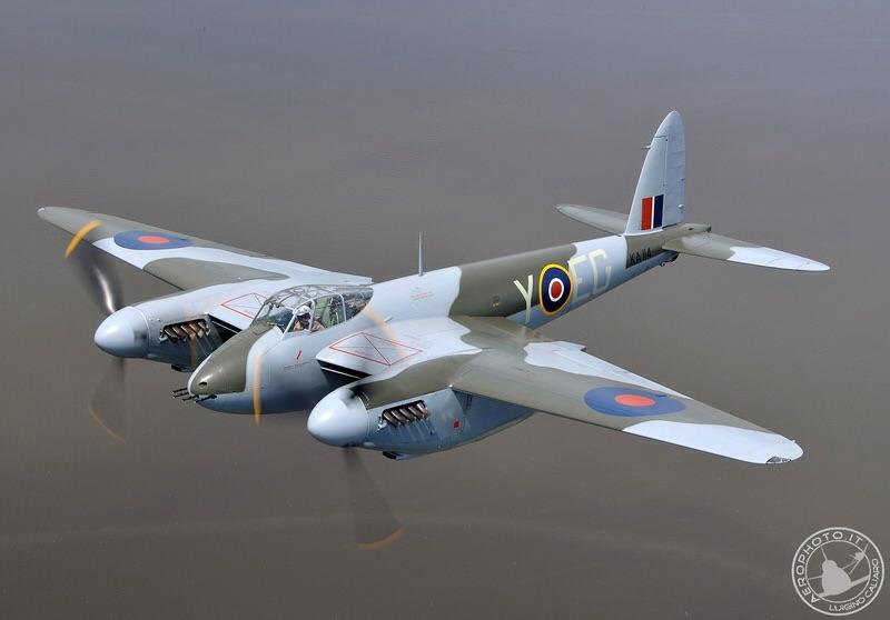 Maglione uomo Mossie De Havilland Mosquito Squadratlantica