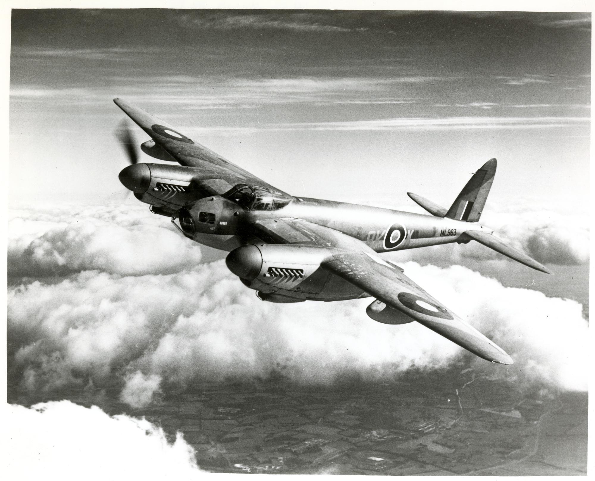 Maglione uomo Mossie De Havilland Mosquito Squadratlantica 02