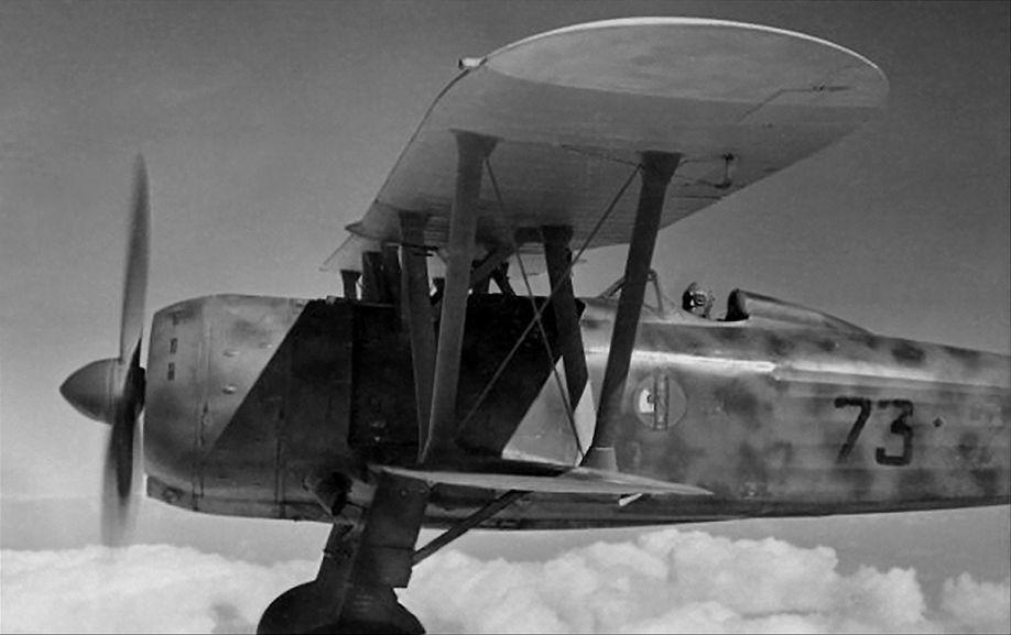 CR42 la rana e lo scorpione Regia Aeronautica
