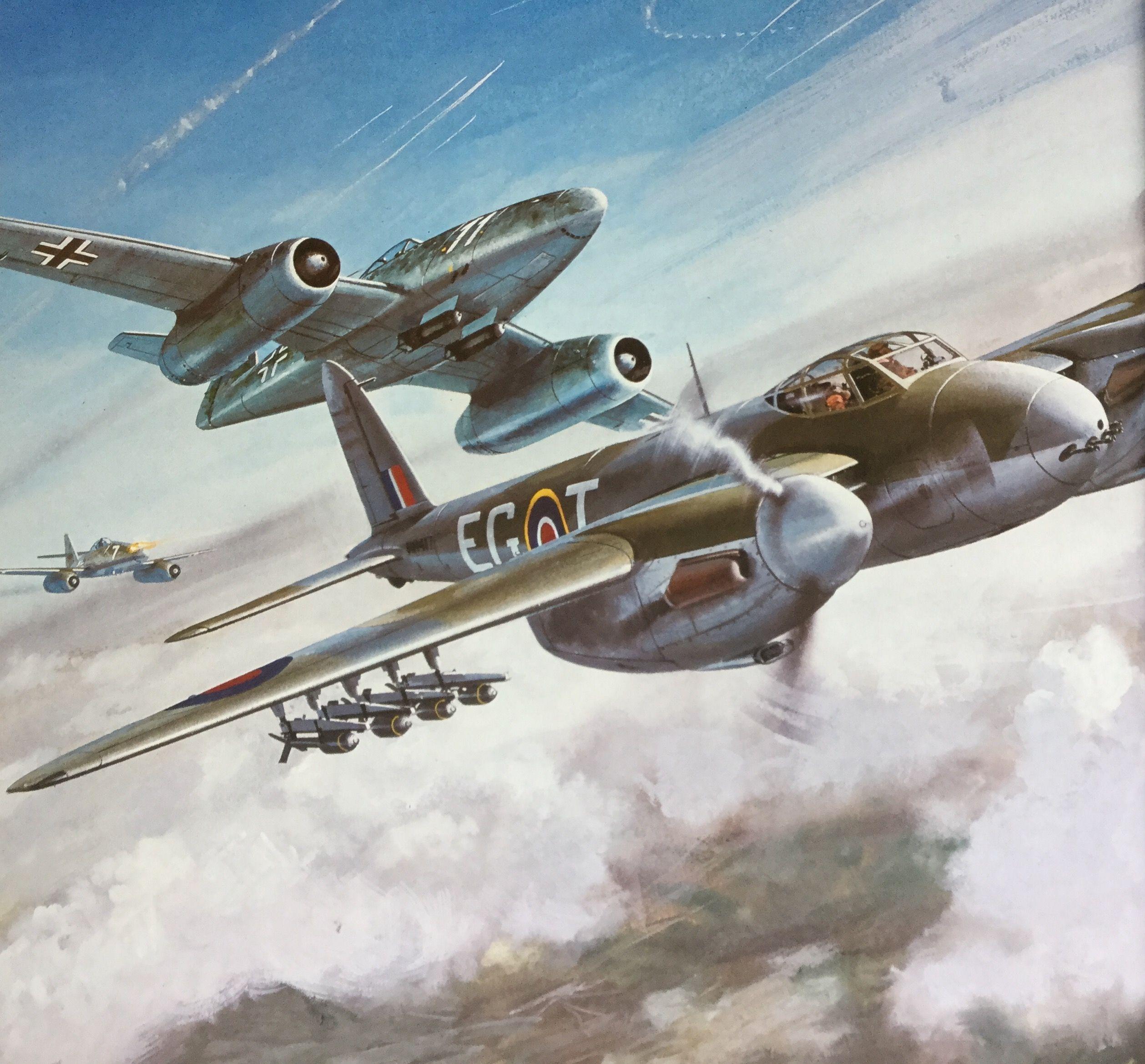 De Havilland Mosquito Roy Cross Squadratlantica