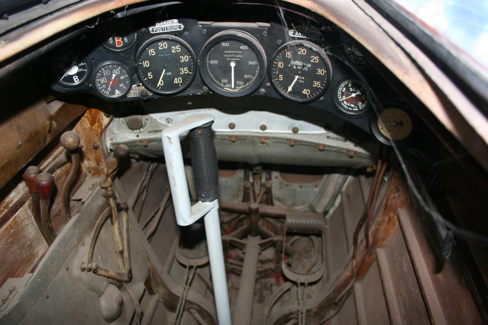 Macchi Cockpit Squadratlantica