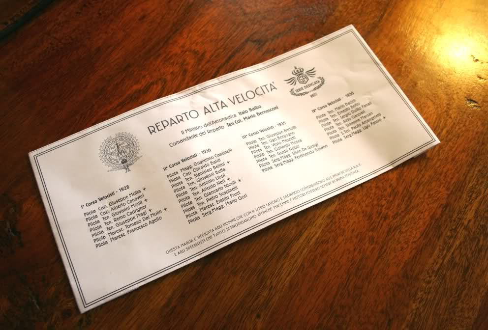 Etichetta RAV Squadratlantica