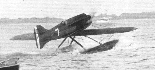 Macchi M52 decollo Squadratlantica
