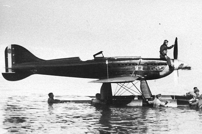 Agello Macchi MC72 ultimo volo Squadratlantica