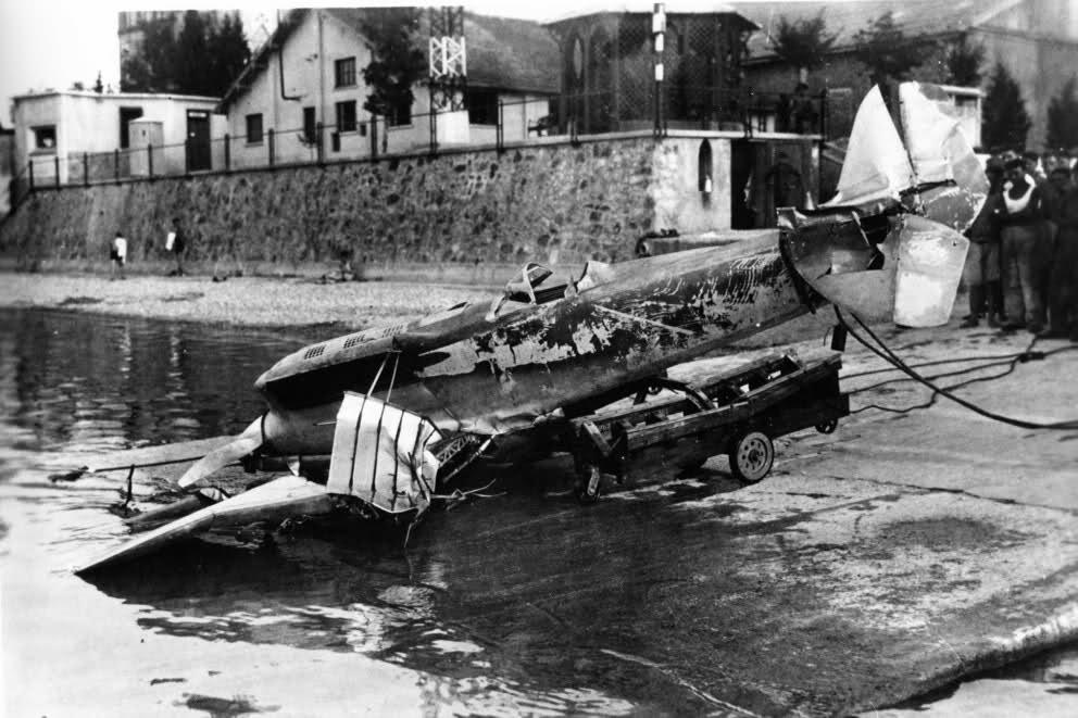 Fiat C29 crash Squadratlantica