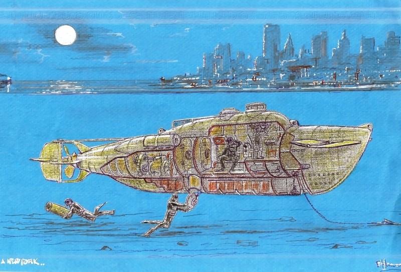 Sommergibile CA3 Squadratlantica