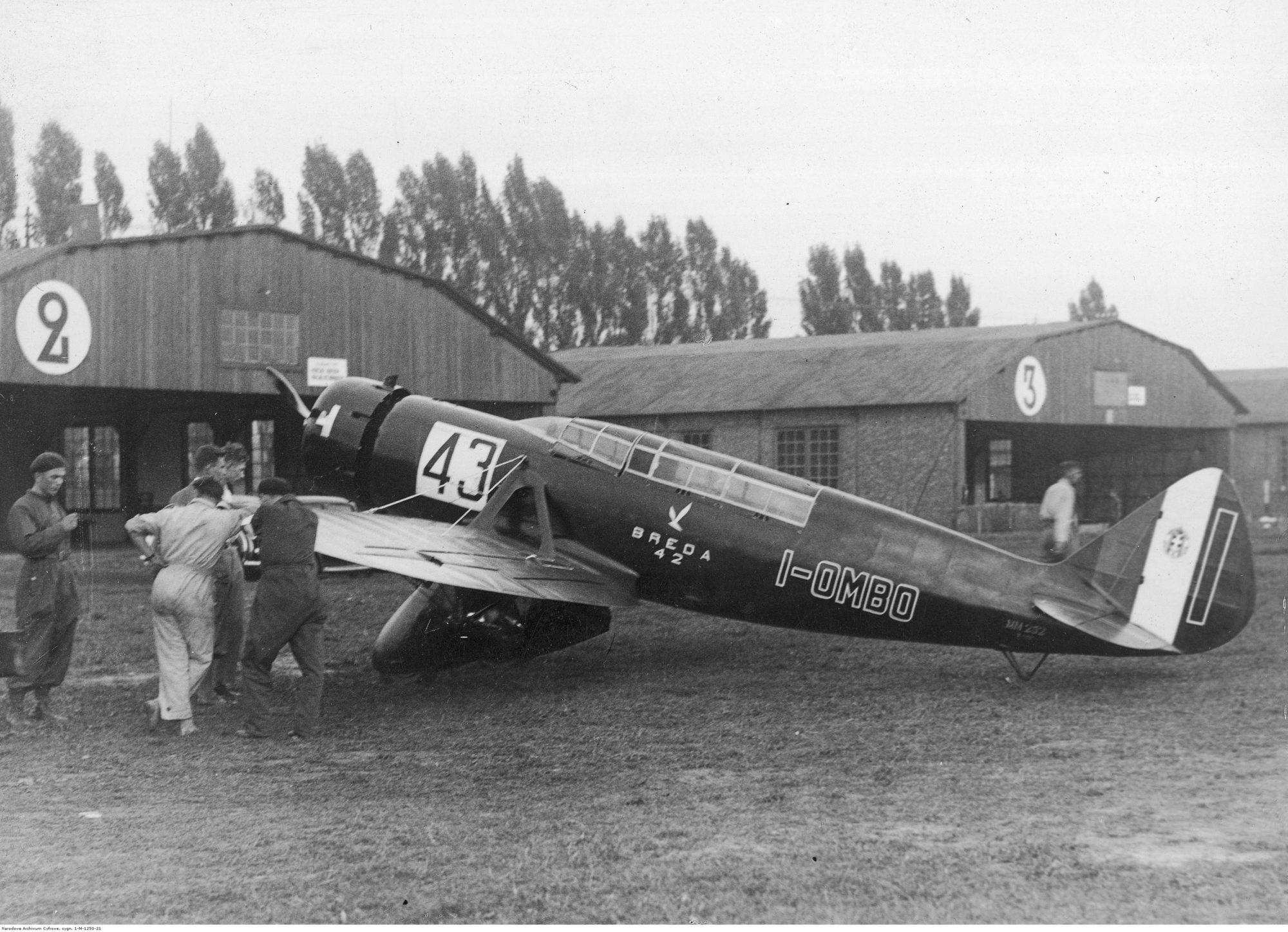 Breda 42 Aeroclub Squadratlantica