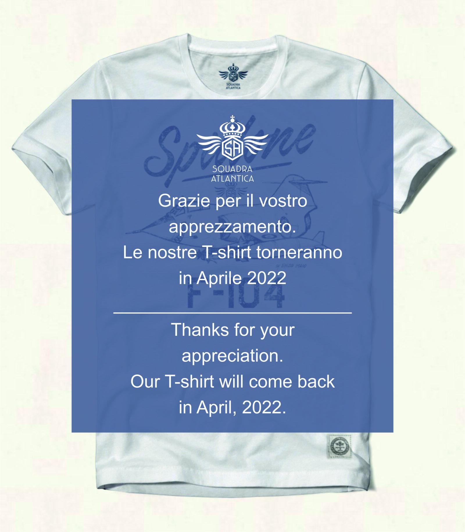 Lay out tshirt Squadratlantica