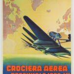 Squadratlantica Poster Trasvolata Decennale